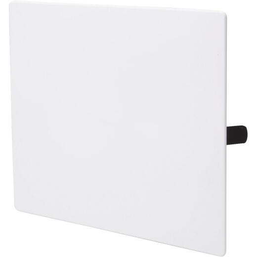 B&K 10 In. x 10 In. White Plastic Wall Access Panel