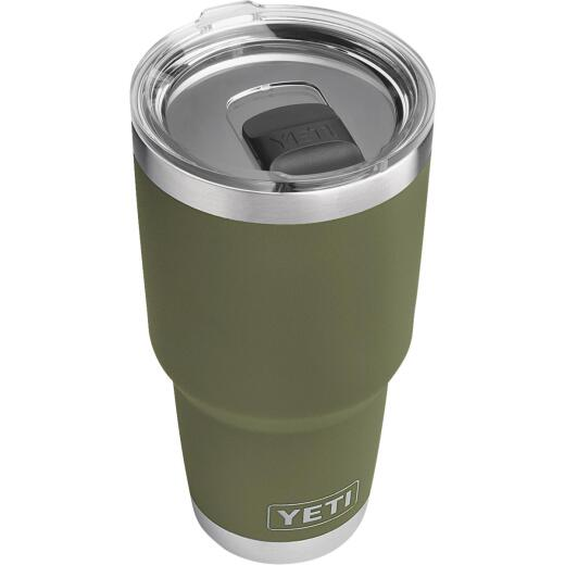 Yeti Rambler 30 Oz. Olive Green Stainless Steel Insulated Tumbler with MagSlider Lid